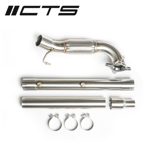 CTS Turbo Audi/VW 2.0T FWD Exhaust Downpipe (Catless) (MK5, MK6, 8P A3, 8J TT)