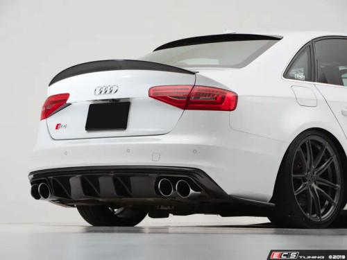 ECS Tuning Audi B8/B8.5 S4 Trunk Spoiler - Gloss Black