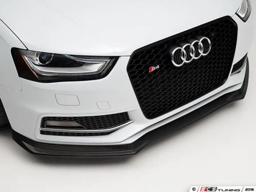 ECS Tuning Carbon fiber Front Lip Spoiler for Audi B8.5 Facelift A4 S-Line or S4