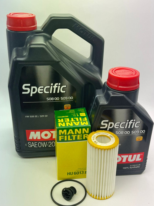 Motul Specific 508 00/509 00  Oil Service Kit (0w-20) (6L) For MK7.5 GTI an other VW/Audi with the 508/509 specification