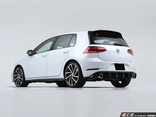 ECS Tuning  MK7.5 GTI Gloss Black Rear Diffuser