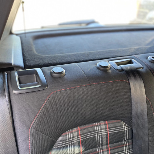 CJM Industries MK7/7.5 Golf / GTI / R - Rear Headrest Delete Plugs