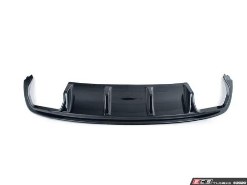 Audi B8.5 S5 / A5 S-Line Rear Diffuser (2013+) - Gloss Black