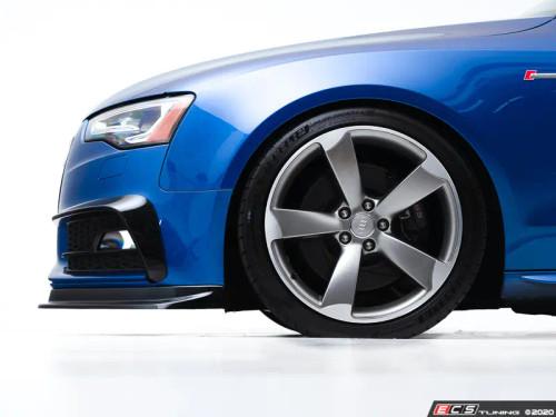 Audi B8.5 S5 / A5 S-Line Facelift Front Lip (2013+) - Gloss Black