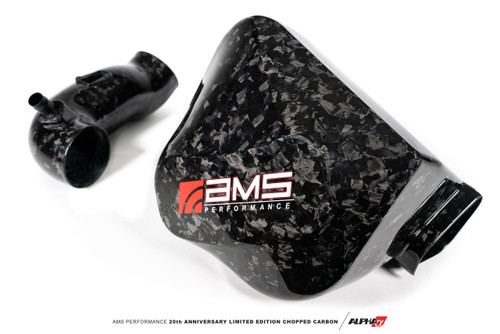AMS Performance Toyota GR Supra Chopped Carbon Fiber Air Intake – 20th Anniversary Limited Edition