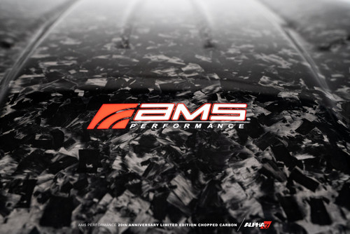 AMS Performance Toyota GR Supra Chopped Carbon Fiber Engine Cover – 20th Anniversary Limited Edition