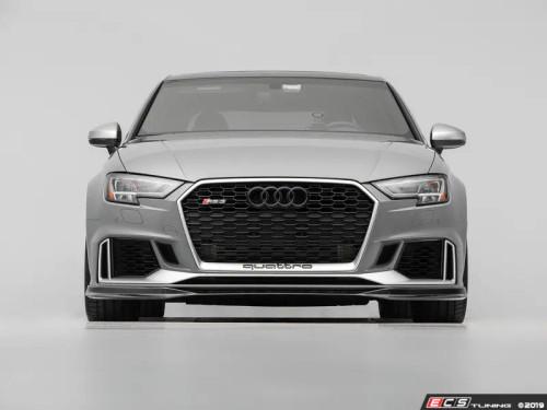 ECS Tuning Audi 8V RS3 Carbon Fiber Front Lip Spoiler