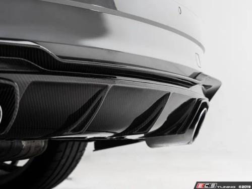 ECS Tuning Audi 8V RS3 Carbon Fiber Rear Diffuser