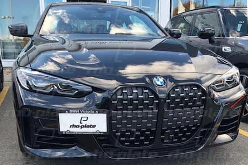 BMW 4-Series (G22) 2021 rho-plate V2