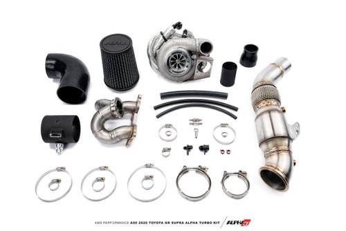 AMS Performance A90 2020 Toyota GR Supra ALPHA 6 GTX3076 GEN II Street Turbo Kit