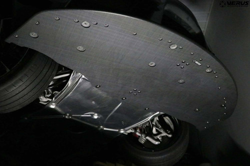 Verus Engineering Front Splitter Kit - Mk5 Toyota Supra