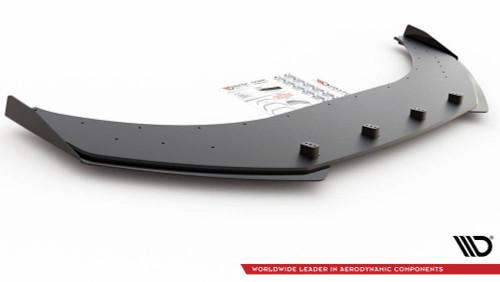 Maxton Design Racing Durability Front Splitter + Flaps Volkswagen Arteon R-Line