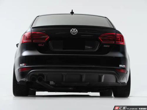 ECS MK6 Jetta GLI Rear Diffuser - Textured Black