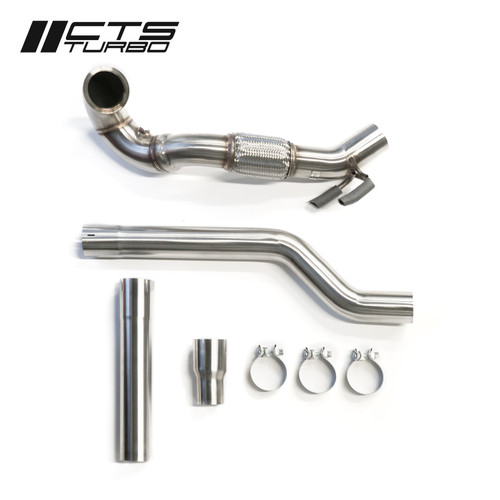 CTS Turbo MQB AWD Exhaust Downpipe