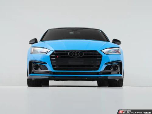 ECS Audi B9 A5 S-Line/S5 Front Lip - Gloss Black