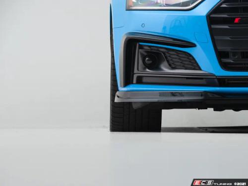 ECS Audi B9 A5 S-Line/S5 Grille Accent Set - Gloss Black