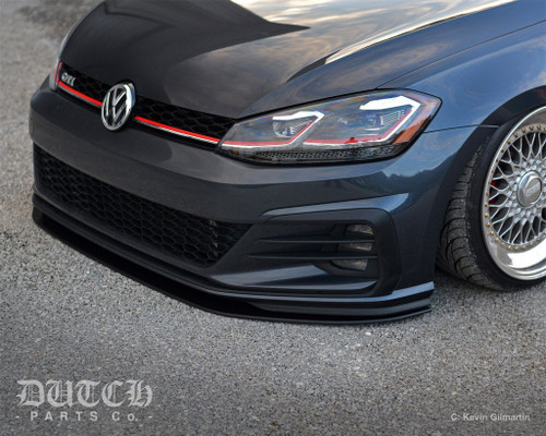 DPC FRONT BUMPER SPLITTER For VW MK7.5 GTI