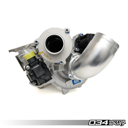 034 Motosport  R460 Hybrid Turbocharger System for 8V Audi S3 & MkVII Volkswagen Golf R 2.0 TFSI (MQB)