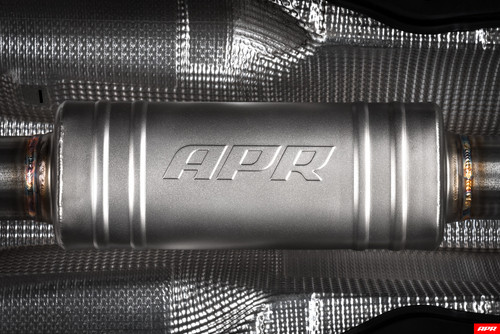 APR Catback Optional Front Muffler for  MK7 GTI & MK7.5 GTI