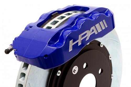 High Performance 6-Piston Aluminum Front Brake Kit