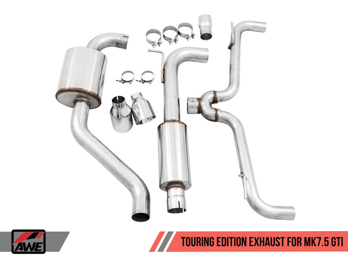 AWE Touring Edition Exhaust for VW MK7.5 GTI