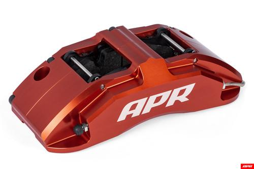 APR BBK Kit  350x34mm/6 Piston Red Caliper/Audi A3 8V Audi TT 8S/ VW Golf Sportwagen /MK7 VW Golf Alltrack /MK7 VW GTI /MK7 VW Arteon/ VW Jetta GLI/ VW Tiguan II  WITH PADS
