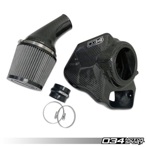 034 Motosport X34 Carbon Fiber Cold Air Intake, B9 Audi S4/S5 3.0 TFSI