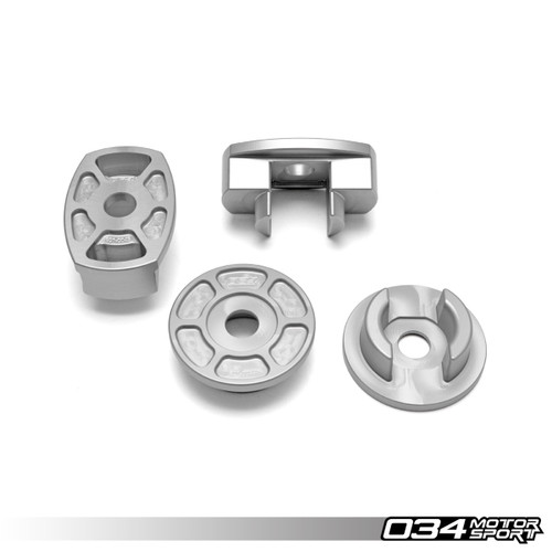 034 Billet Aluminum Rear Subframe Mount Insert Kit, B9 Audi A4/S4/A5/S5/RS5 & Allroad
