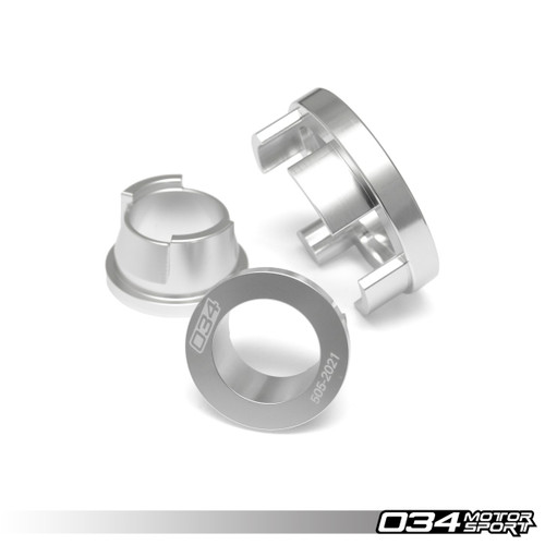 034 Motosport Billet Aluminum Rear Differential Mount Insert Kit, B9 Audi A4/S4/S5/RS5 & Allroad