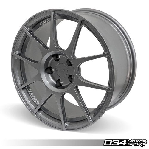 034 Motosport ZTF-01 Forged Wheel, 18x8.5 ET45, 57.1mm Bore (Per Wheel)