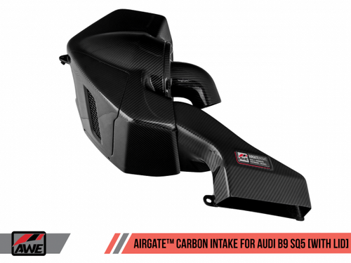 AWE AirGate™ Carbon Fiber Intake for Audi B9 SQ5 3.0T - With Lid