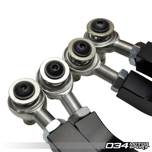 034Motorsport Density Line Adjustable Upper Control Arm Kit, Camber Correcting, B8 Audi A4/S4/RS4, A5/S5/RS5, Q5/SQ5