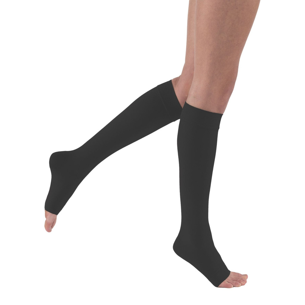 Knee Jobst Relief Stockings - Open Toe