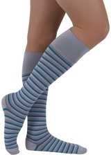 Rejuva Stripe Compression Socks