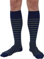 Rejuva Stripe Knee 15-20mmHg