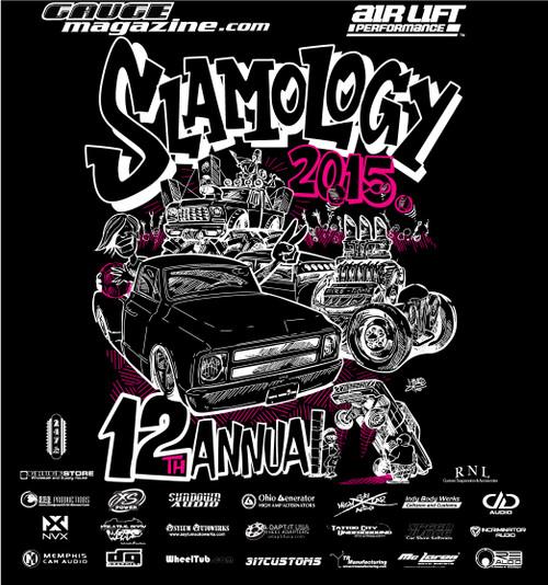 Slamology 2015 T-shirt