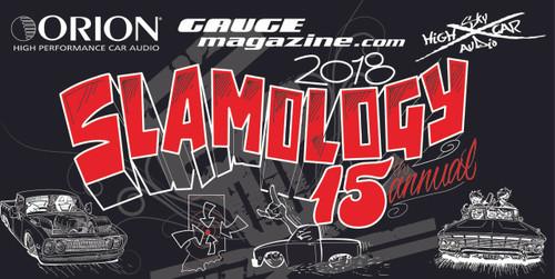 Slamology 2018 15 Year anniversary collector banner