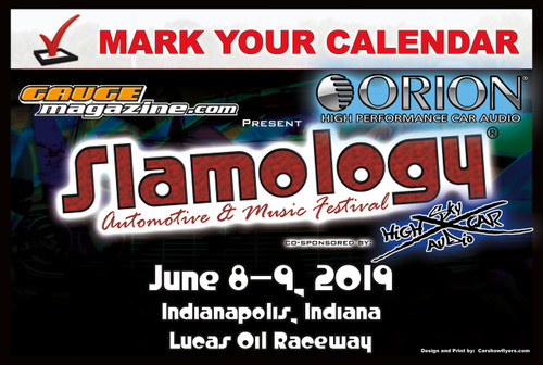 Slamology 2019 Pre-Registration