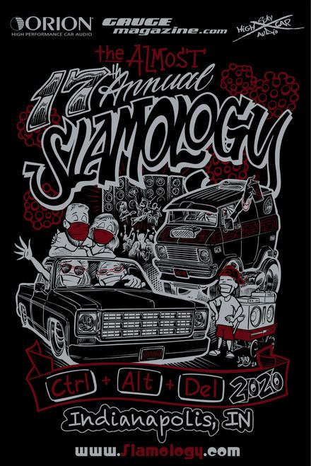 Slamology 2020  2x3 vertical banner