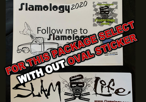 2020 Sticker Packet with out Oval sticker
