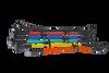 PowerSource Dodge Big Block 440 Spark Plug Wire Set OVC - HEI PS-656 Colors Image