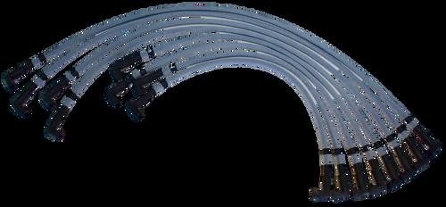 Scott Chevy Small Block Spark Plug Wire Set UH - Standard Distributor CS-405 Image