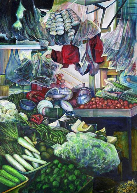 Painting by New York City Fine Art Artist, Gaye Elise Beda