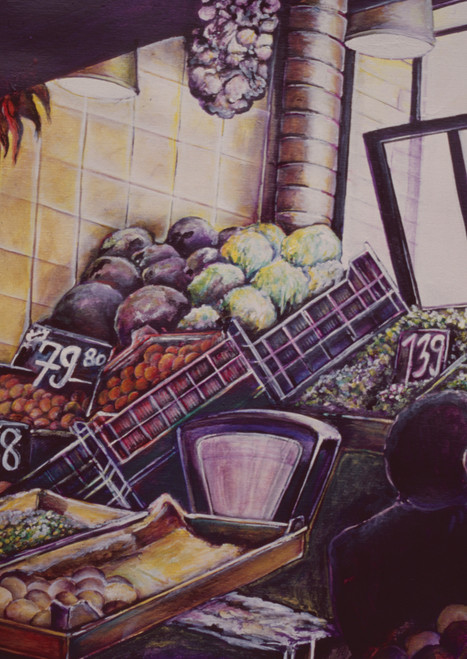 Painting by New York City Fine Art Artist, Gaye Elise Beda Painting by New York City Fine Art Artist, Gaye Elise Beda