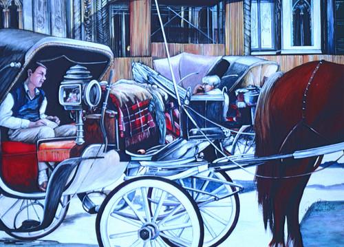 Painting by New York City Artist, Gaye Elise Beda