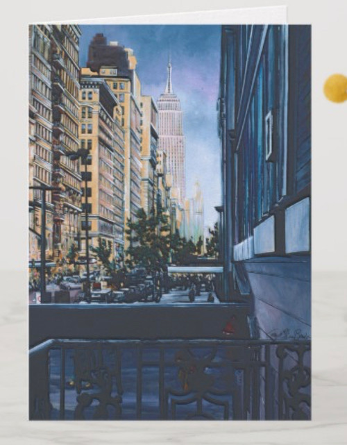 Painting by New York City Artist, Gaye Elise Beda. Check it out.