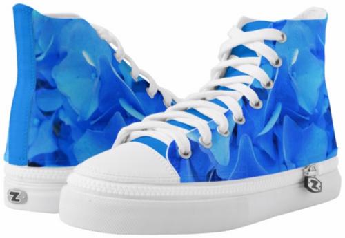 Original Photo by New York City Artist, Gaye Elise Beda.    Check it out. www.gayeelisebeda.store            High-Top Sneakers