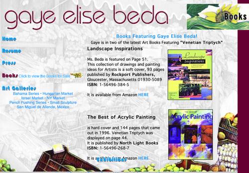 Books featuring Gaye Elise Beda