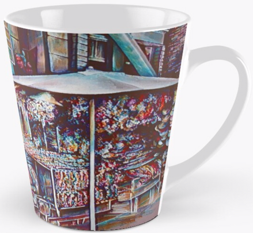Original Painting by New York City Artist, Gaye Elise Beda. Check it out.www.gayeelisebeda.store   Mug