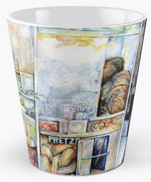 Original Painting by New York City Artist, Gaye Elise Beda. Check it out. www.gayeelisebeda.store   Mugs